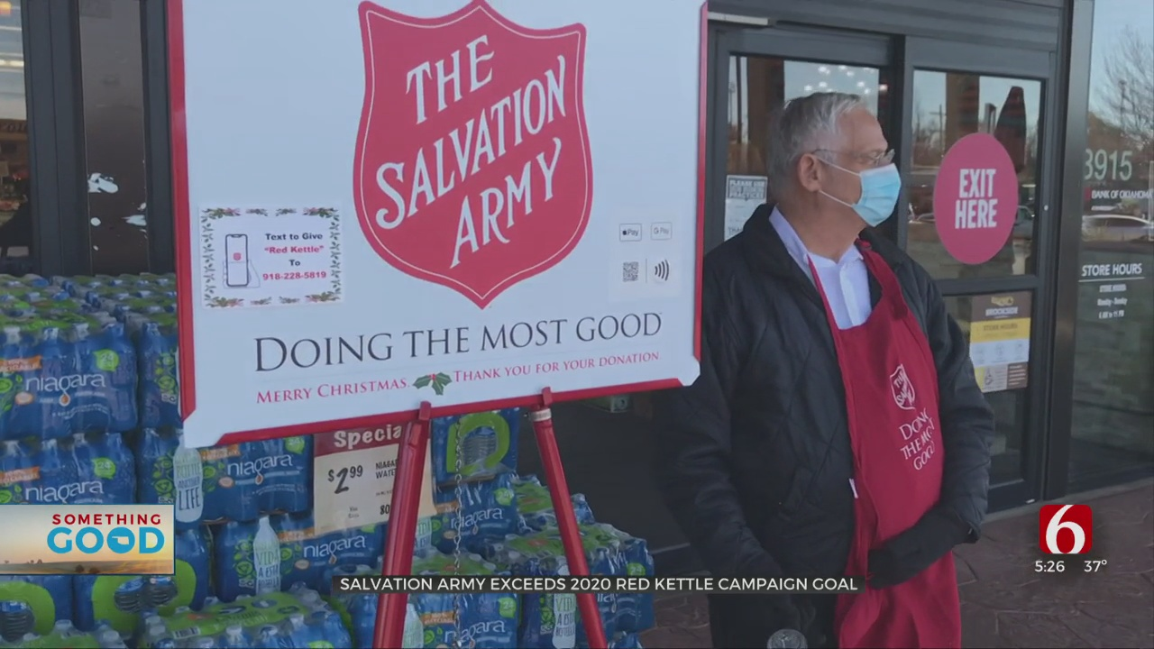 Despite Pandemic, Fewer Volunteers, Salvation Army Exceeds Red Kettle Campaign Goal