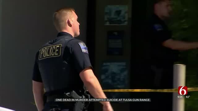 Tulsa Police Investigating Possible Murder-Suicide At Gun Range