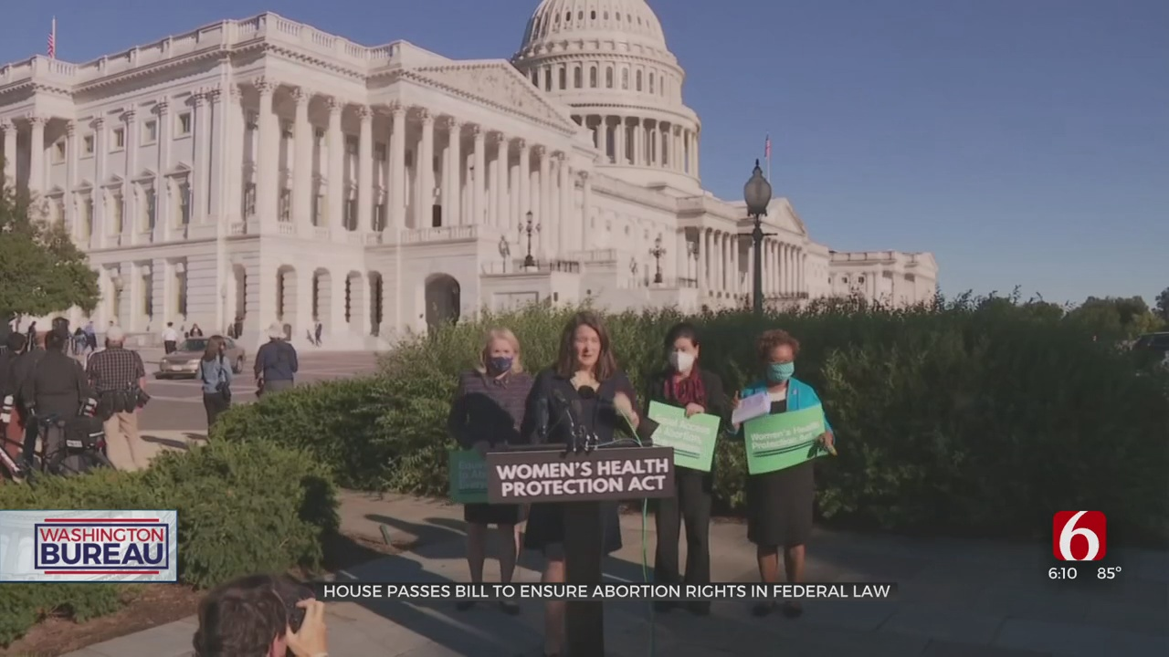 Women's Health Protection Act Narrowly Passes In The House, Senate Vote Unlikely