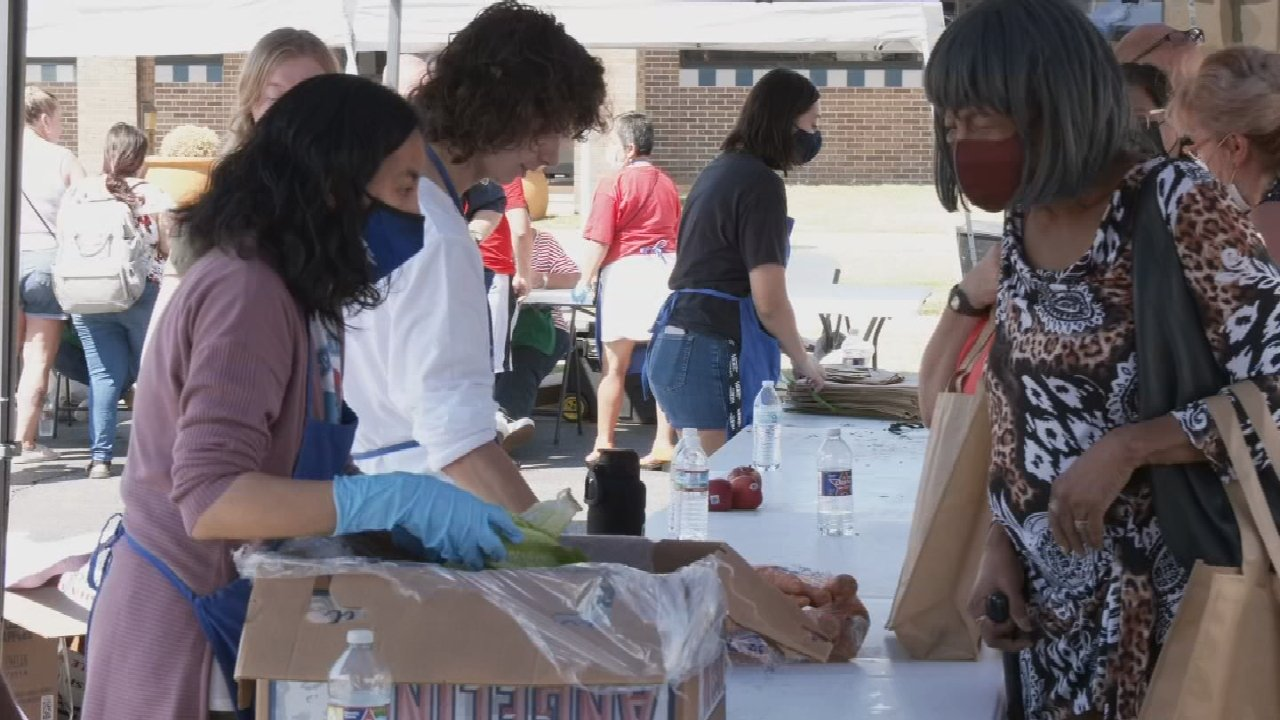 Food On The Move Hosts Pay-As-You-Can Community Block Party At TCC
