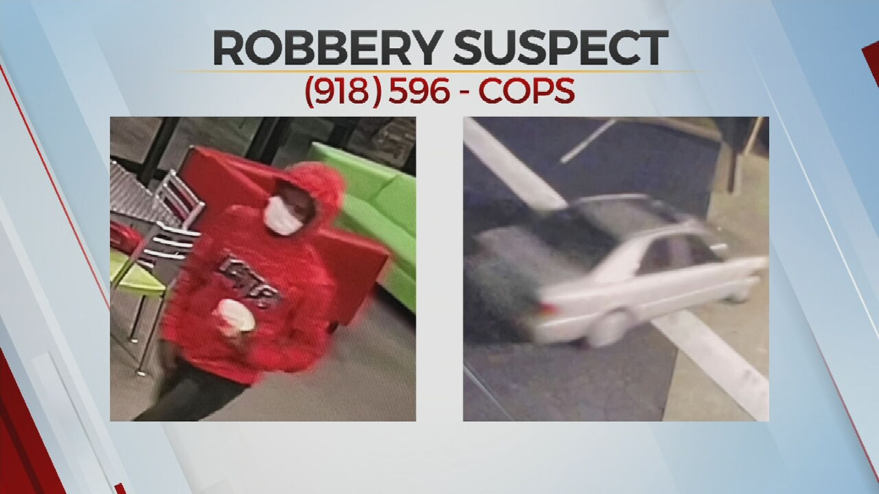 Broken Arrow Police Searching For Suspect In Two Robbery Attempts