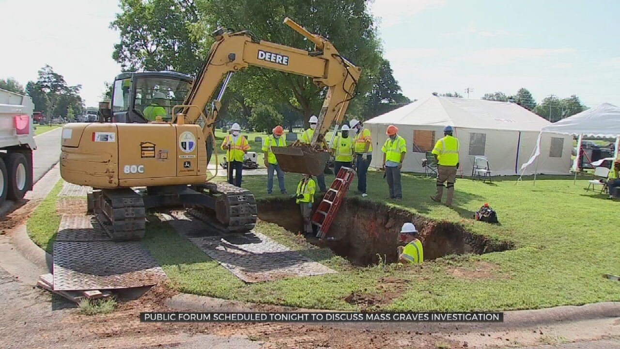 Public Oversight Committee For Tulsa Race Massacre Graves Investigation To Hold Virtual Meeting