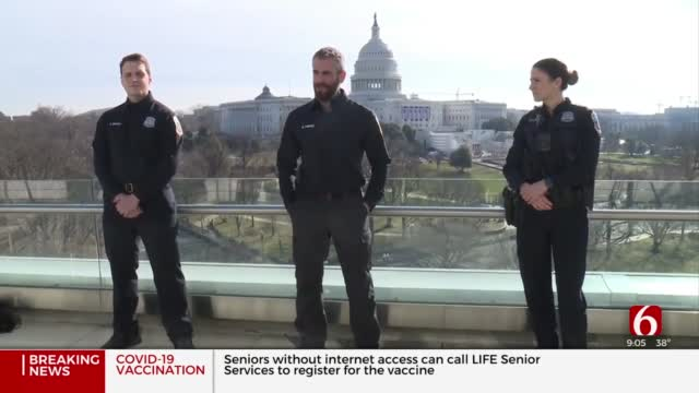 Officers On The Ground During Siege At US Capitol Speak Out