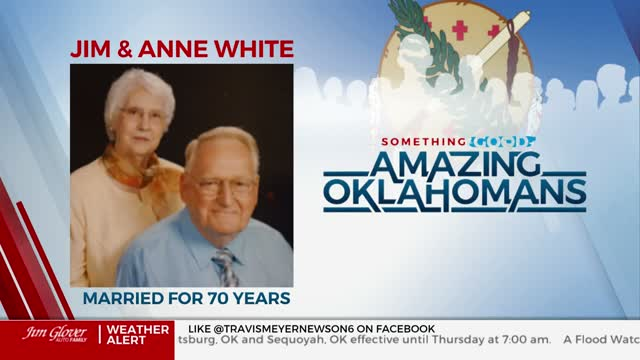 Amazing Oklahoman: Tulsa Couple Celebrates 70th Anniversary