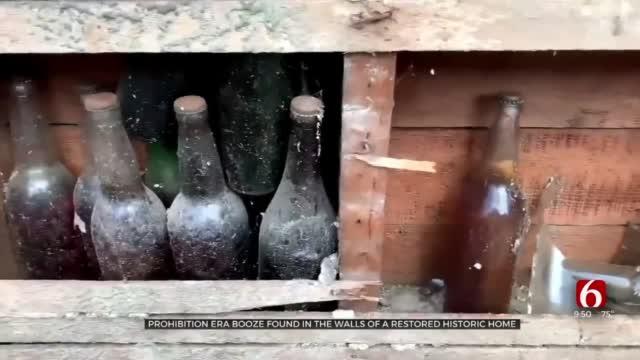 Prohibition Era Booze Found In Walls Of Restored Historic Home