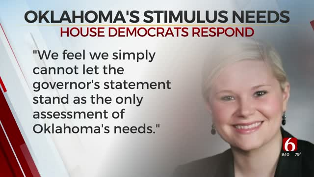 Oklahoma House Democrats Express Support For Additional Stimulus Package