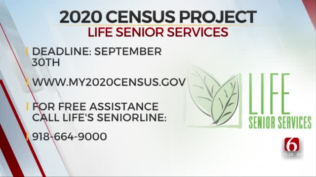 Deadline To Complete 2020 Census Approaching, LIFE Senior Services Offers Free Assistance