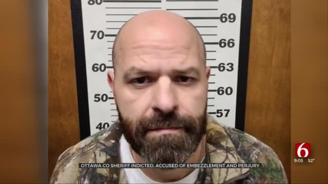 Ottawa County Sheriff Indicted, Accused Of Embezzlement, Perjury