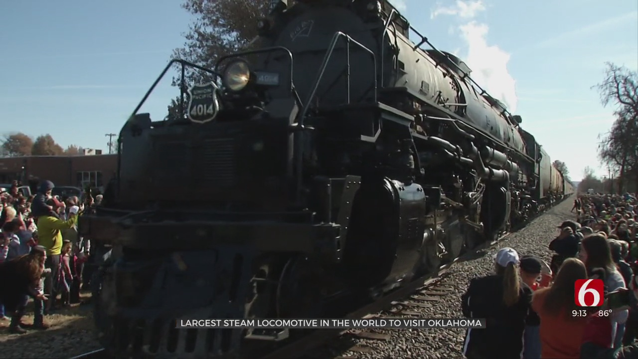 Union Pacific No. 4014 - World's Largest Steam Locomotive - To Visit Oklahoma