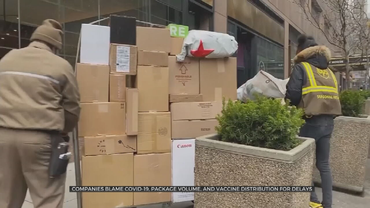 Shipping Delayed Nationwide Due To Overwhelming Amount Of Packages