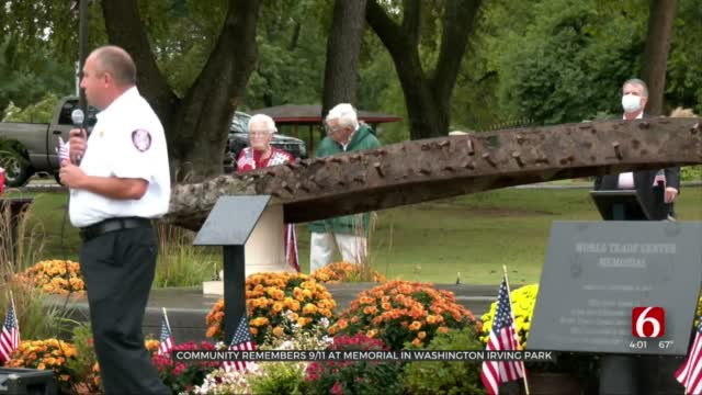 Bixby Residents Pay Tribute To Victims of 9/11