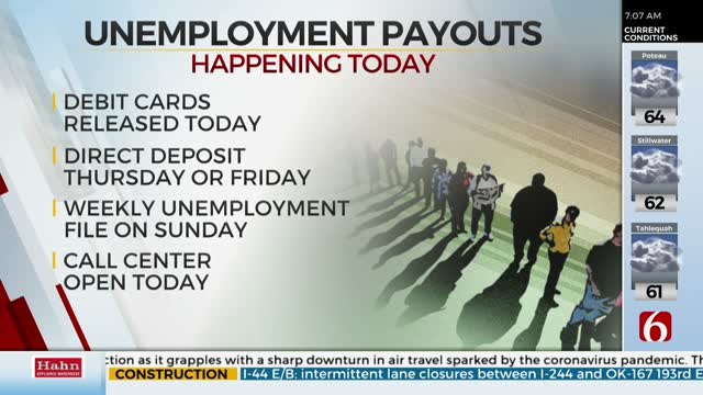 Oklahoma Unemployment Payouts Delayed Due to Holiday
