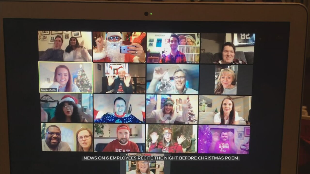 Watch: News On 6 Team Reads 'Night Before Christmas'