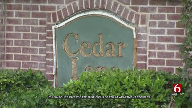 Tulsa Police Investigate Suspicious Death At Apartment Complex