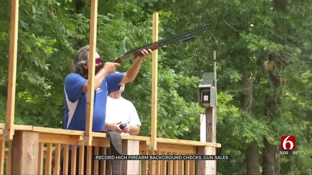 Record High Firearm Background Checks, Gun Sales Reported