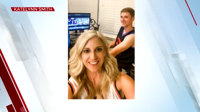 Watch: Oklahomans Got Chance To Watch Thunder Game Virtually