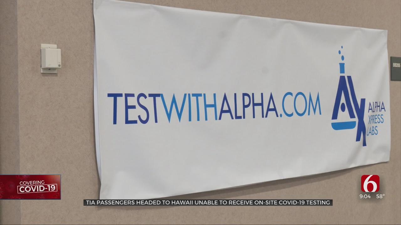 Tulsa COVID-19 Testing Company Seeks Partnership With State Of Hawaii