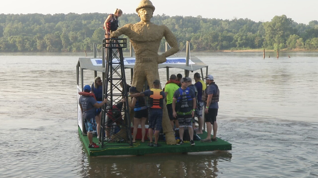 Tulsa's Great Raft Race Canceled For 2nd Year
