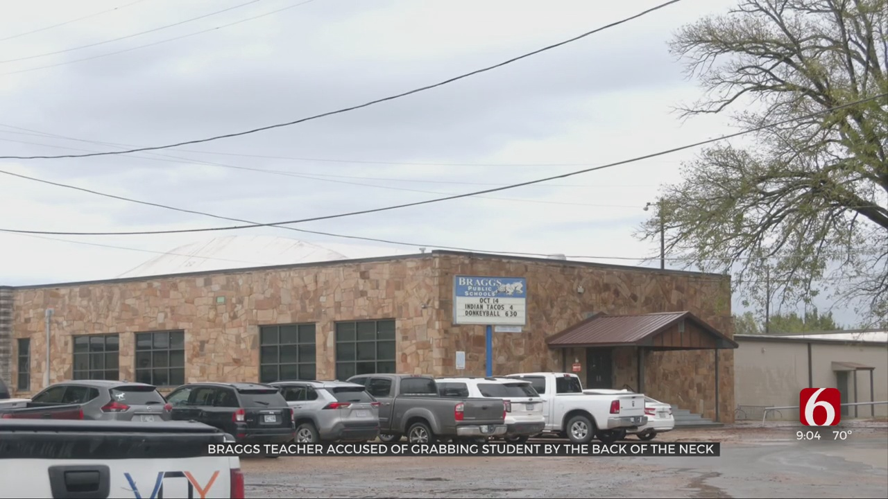 Braggs Teacher Accused Of Grabbing 12-Year-Old Student By Back Of The Neck