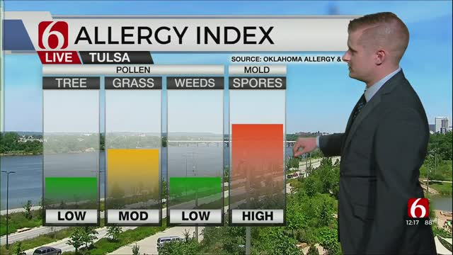 Thursday Afternoon Forecast With Sawyer Wells