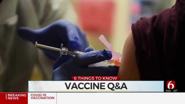6 Things To Know (Jan 13): Tulsa COVID-19 Situation & Vaccine Updates