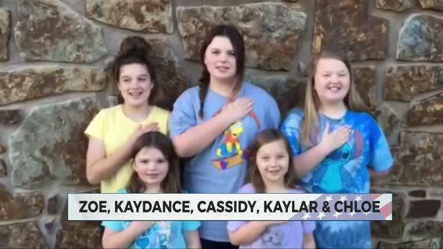 Daily Pledge: Zoe, Kaydance, Cassidy, Kaylar & Chloe