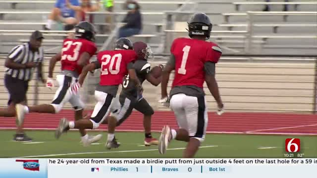 Final Tune-Up For High School Football Teams Before Season Kickoff