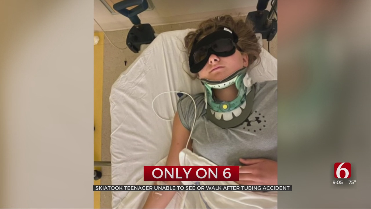 Skiatook Teen Unable To See, Walk After Tubing Accident