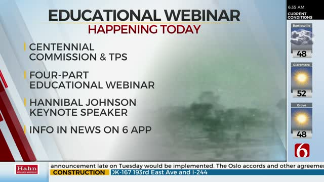 Webinar Series Offers Oklahoma Educators Opportunity To Learn About The Tulsa Race Massacre