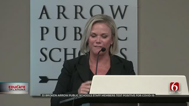 33 Broken Arrow Schools Staff Members Test Positive For COVID-19