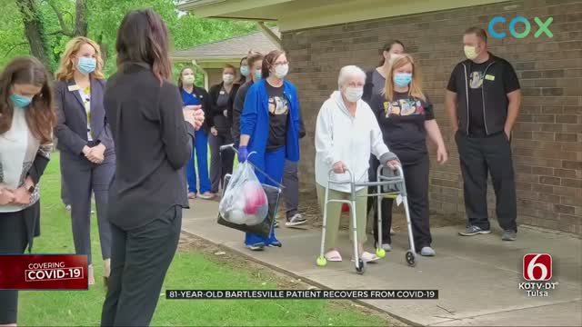 81-Year-Old Bartlesville Woman Recovers From Coronavirus