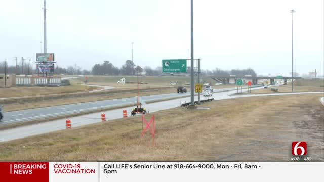 2-Year Construction Project On I-44, Hwy 75 Now Underway