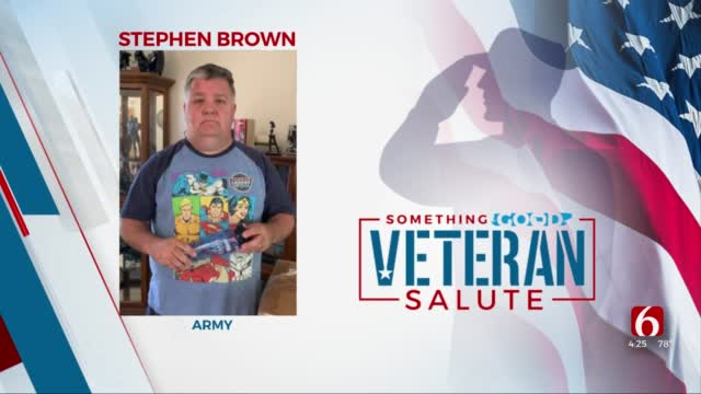 Veteran Of The Day: Stephen Brown