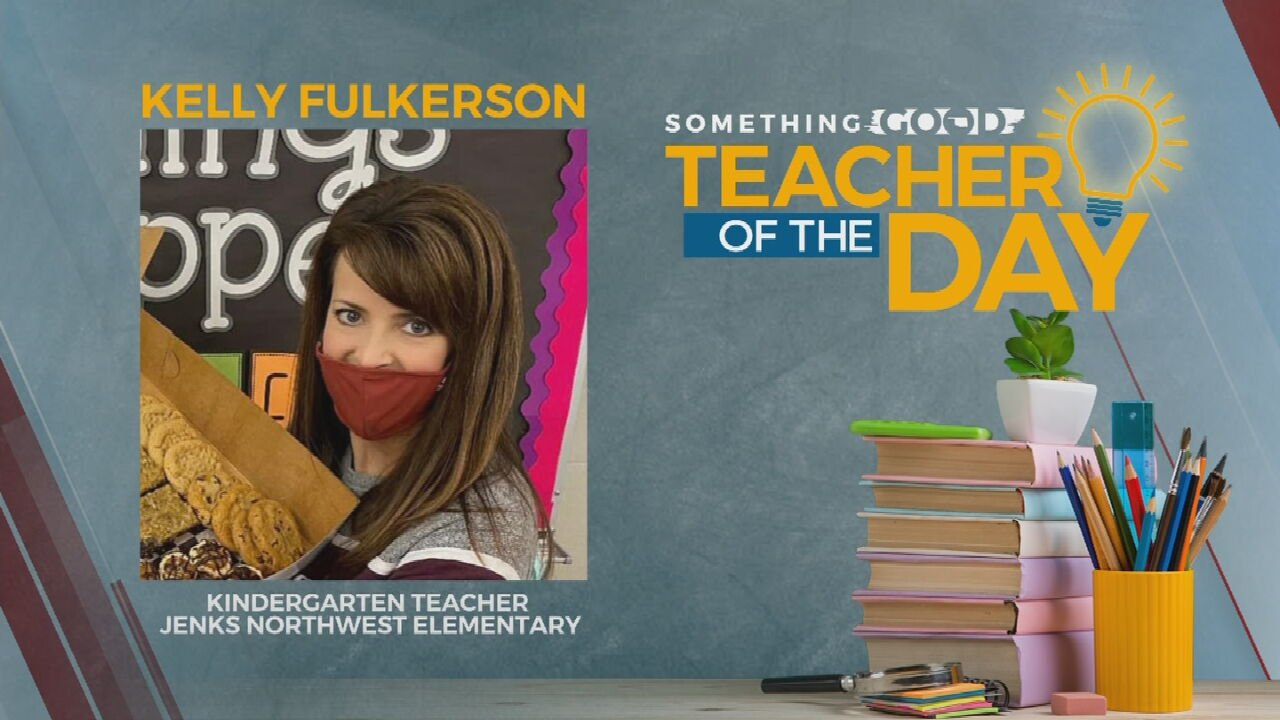 Teacher Of The Day: Kelly Fulkerson
