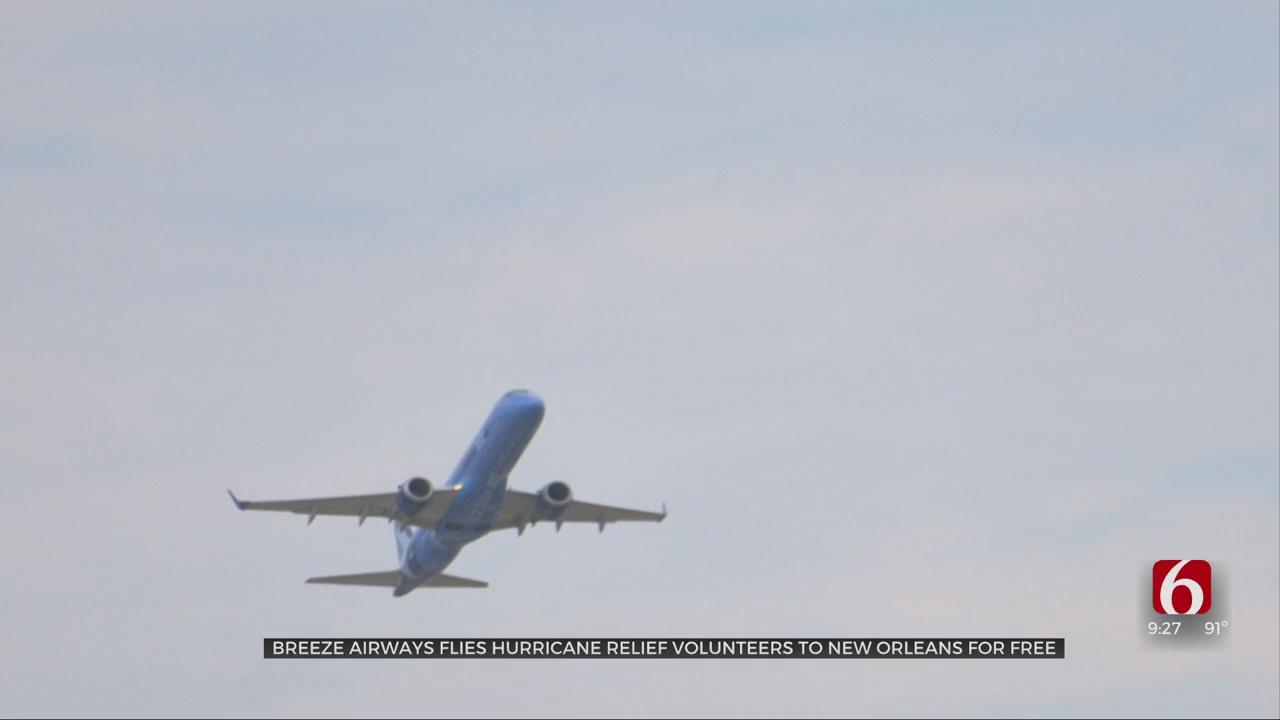 Breeze Airways Flies Hurricane Relief Volunteers To New Orleans For Free