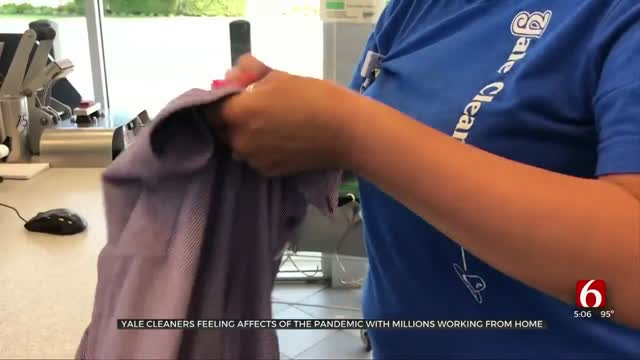 Yale Cleaners Feels Effects Of Pandemic As Millions Working From Home