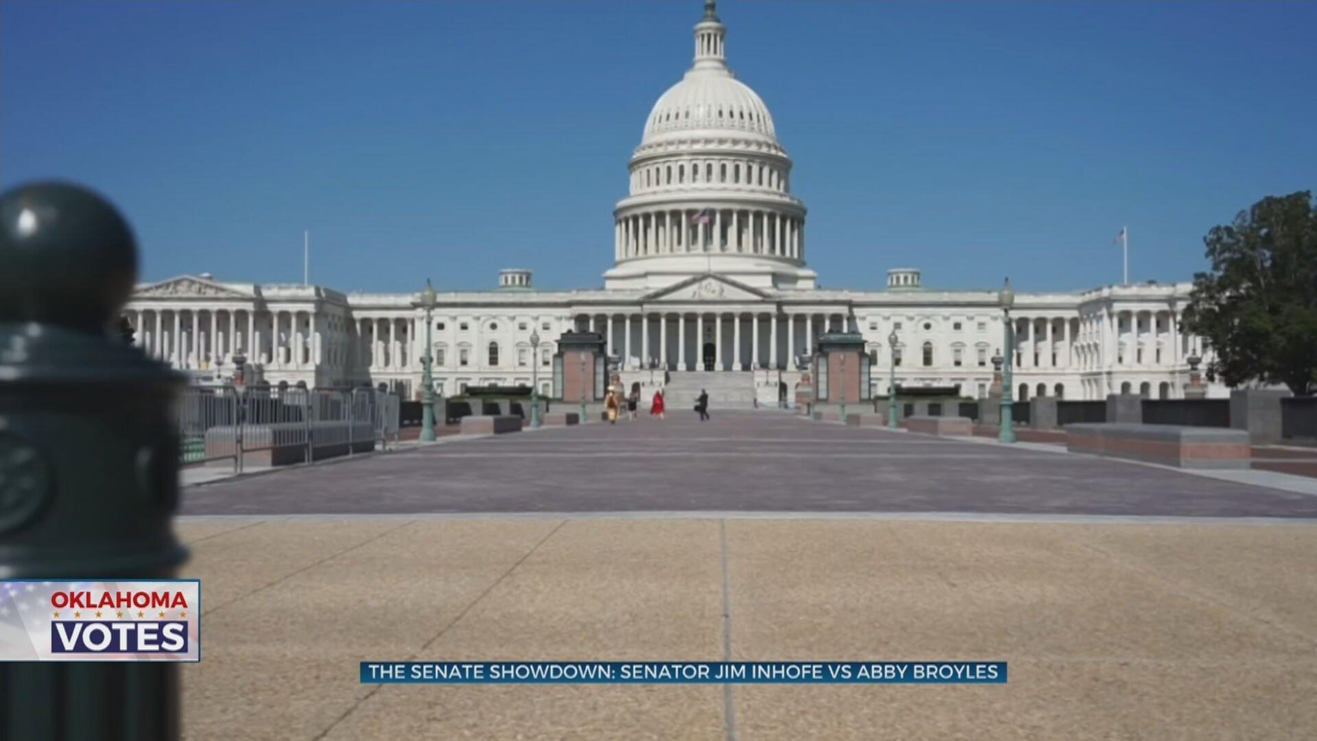 The Senate Showdown: Senator Jim Inhofe V. Abby Broyles