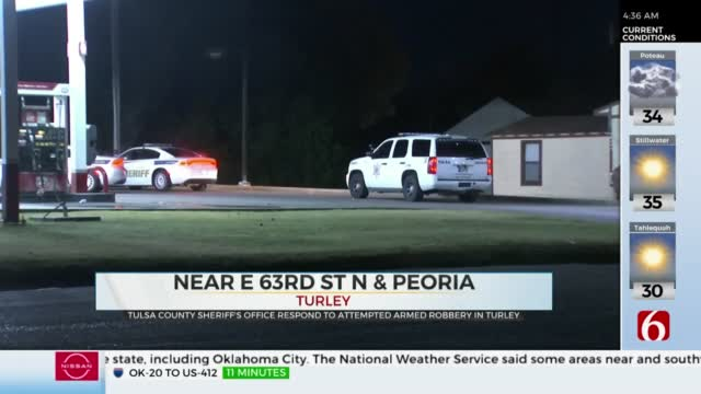 Police Respond To Failed Robbery In Turley