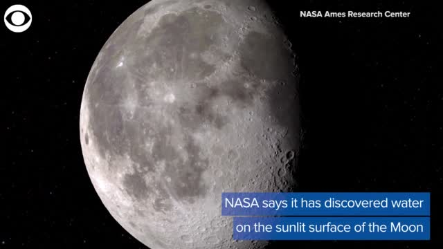 Moon Has A Lot More Water Than Once Thought, Studies Show