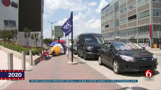 Trump Campaign, BOK Center Work To Keep Attendees Safe