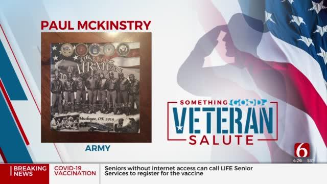 Veteran Salute: Paul McKinstry