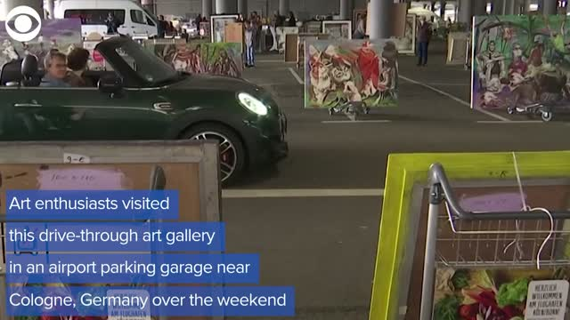 Artists In Germany Find Unique Way To show Their Work