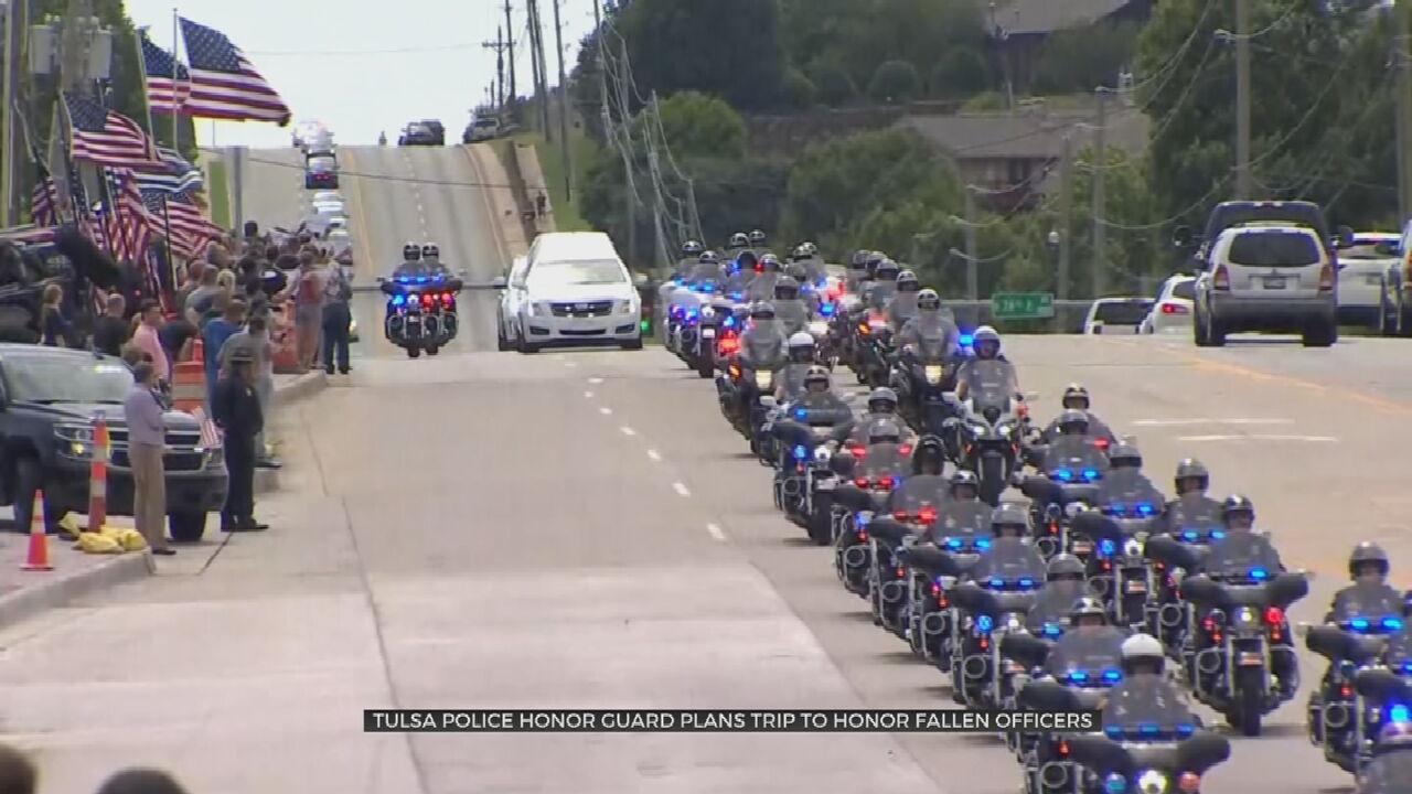 Tulsa Police Honor Guard Planning Washington, D.C. Trip to Honor Sgt. Craig Johnson