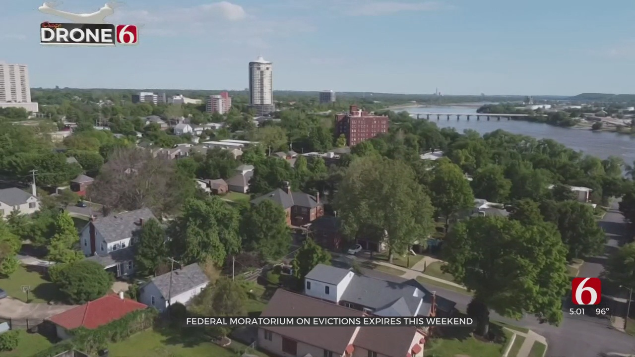 Tulsa Officials Address Rent Assistance As CDC Eviction Moratorium Set To Expire