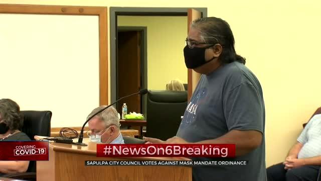 Sapulpa City Council Votes Against Mask Mandate