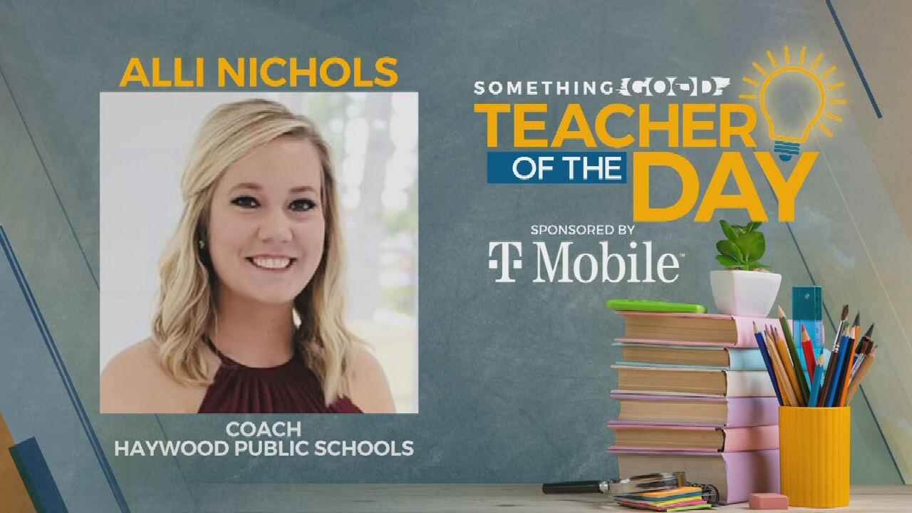 Teacher Of The Day: Aimee Houston