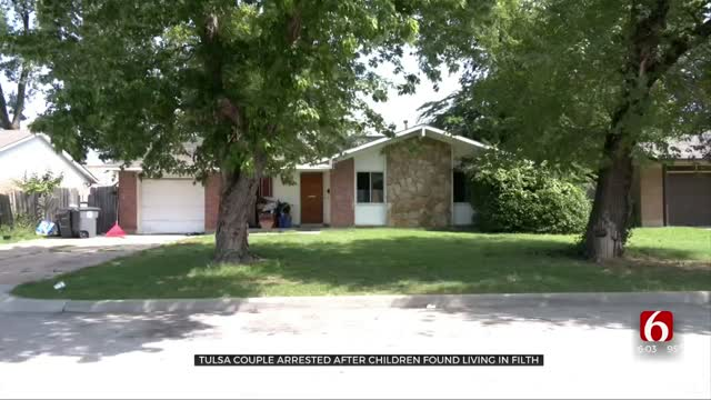 Police: Tulsa Couple Arrested, 4 Kids Living In 'Deplorable Conditions'