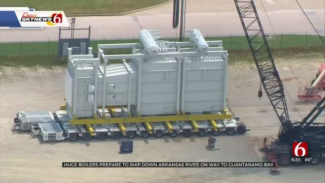 Oklahoma Company Prepares To Ship Boilers To Guantanamo Bay Naval Base