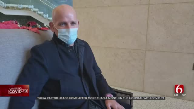 Tulsa Pastor Heads Home After Being Hospitalized Over Month With COVID-19