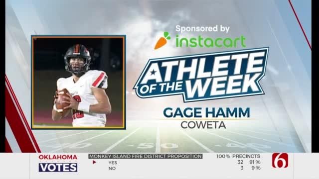 Instacart Athlete Of The Week: Gage Hamm